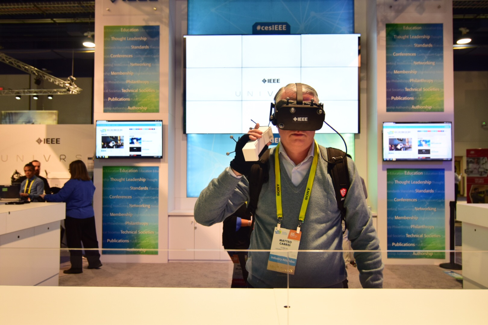 We're Live at CES 20217 - Explore the IEEE UniVRse!