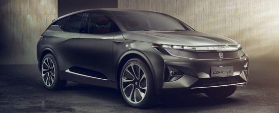 CES 2018: Chinese Startup Byton Unveils $45,000 Gadget-Packed Electric SUV