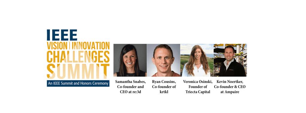 The 2018 IEEE VIC Summit: Speakers Highlights