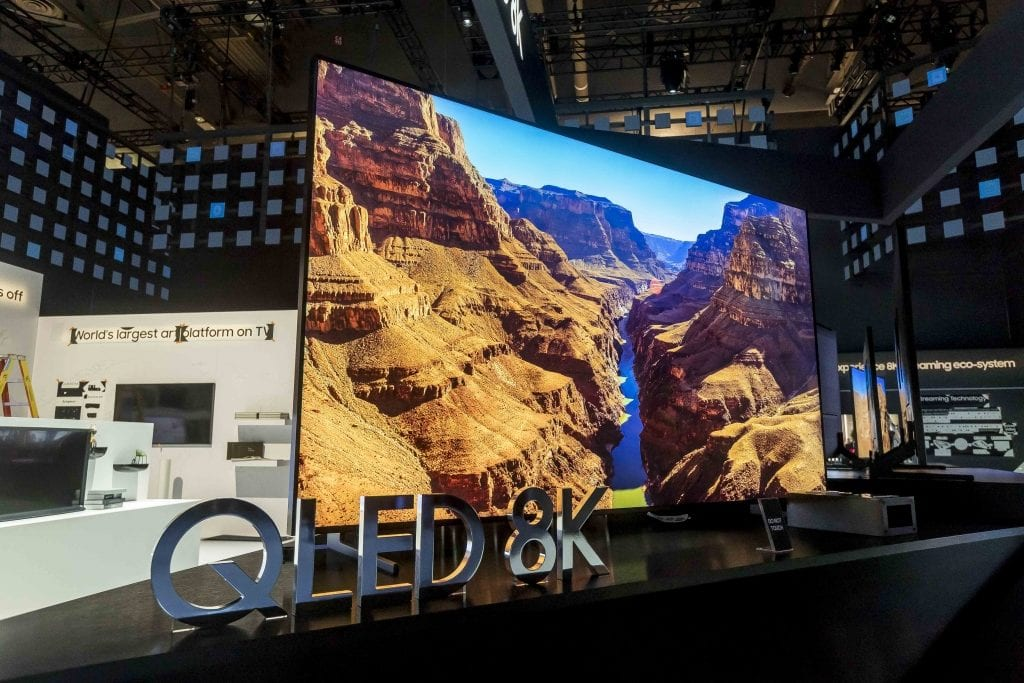 Day One of CES® 2019: TVs & Laptops Take Center Stage