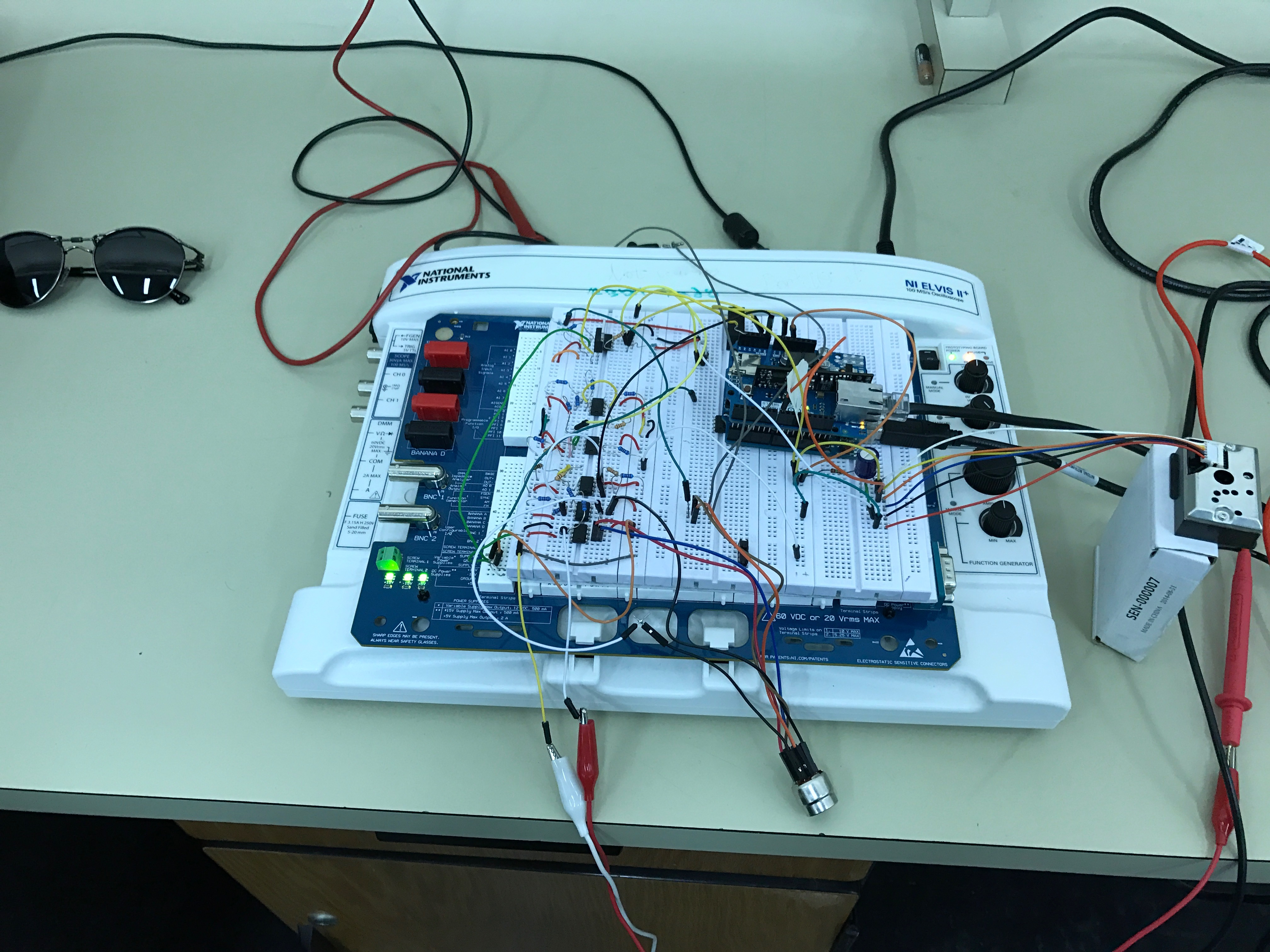 Air Pollution Monitoring System - The IEEE Maker Project