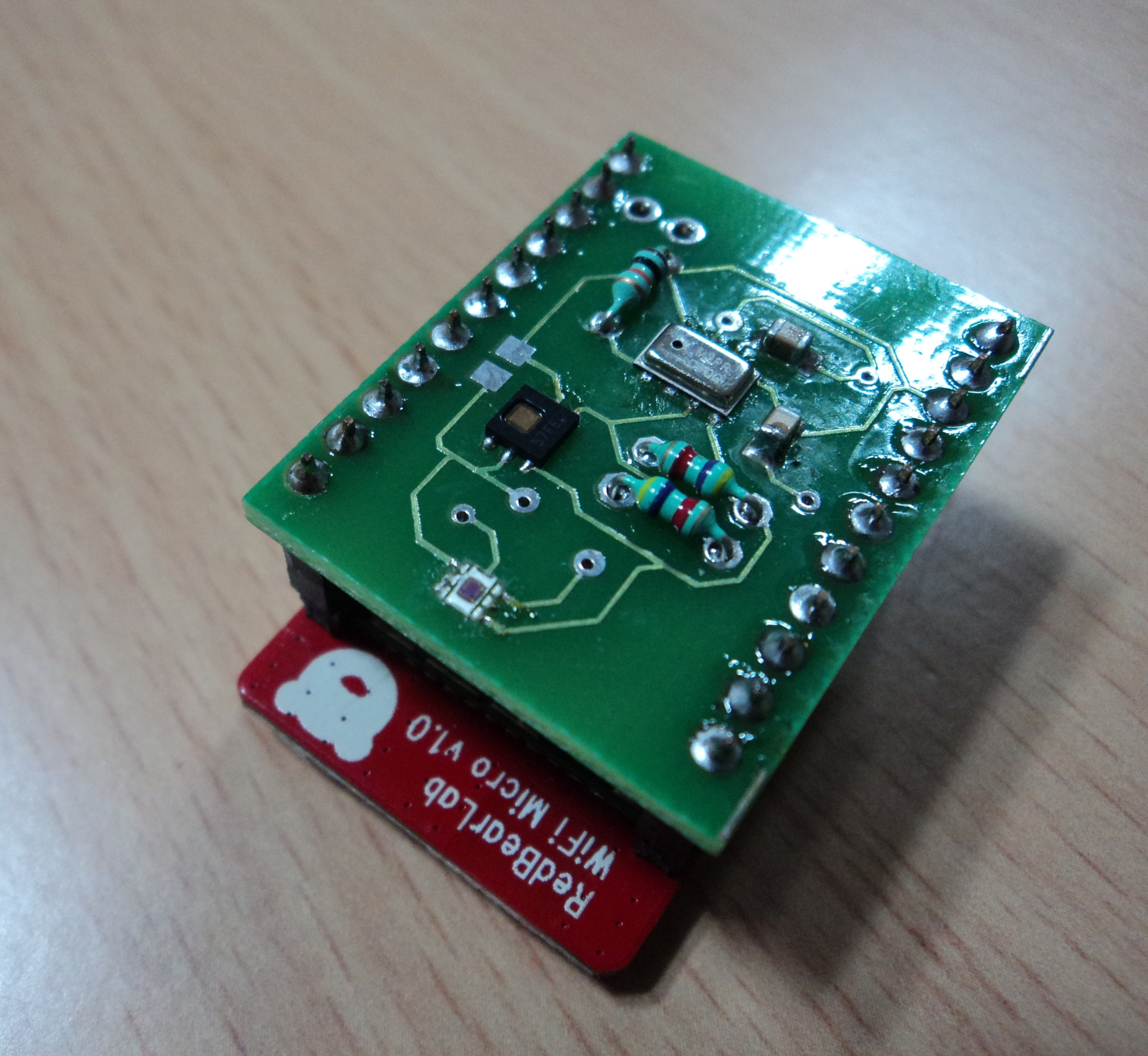 Self Sustained WiFi Sensor Node for IoT - The IEEE Maker Project