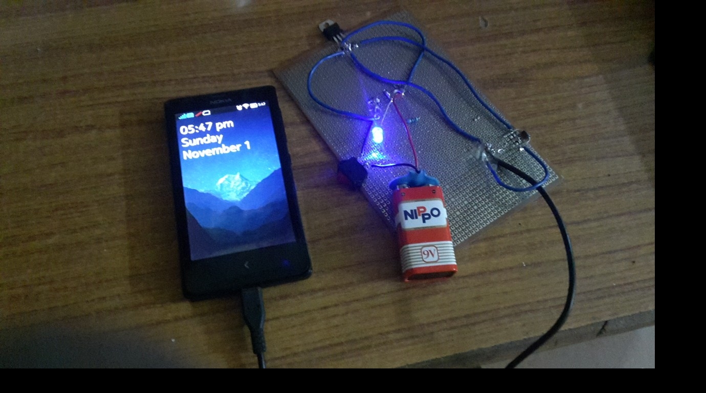 Portable Mobile Charger The Ieee Maker Project Battery Eliminator Circuit With L7812cv And 7805 This Is Mainly Used When We Are Going To Any Camps Or In Journey It Very Carry Where Place