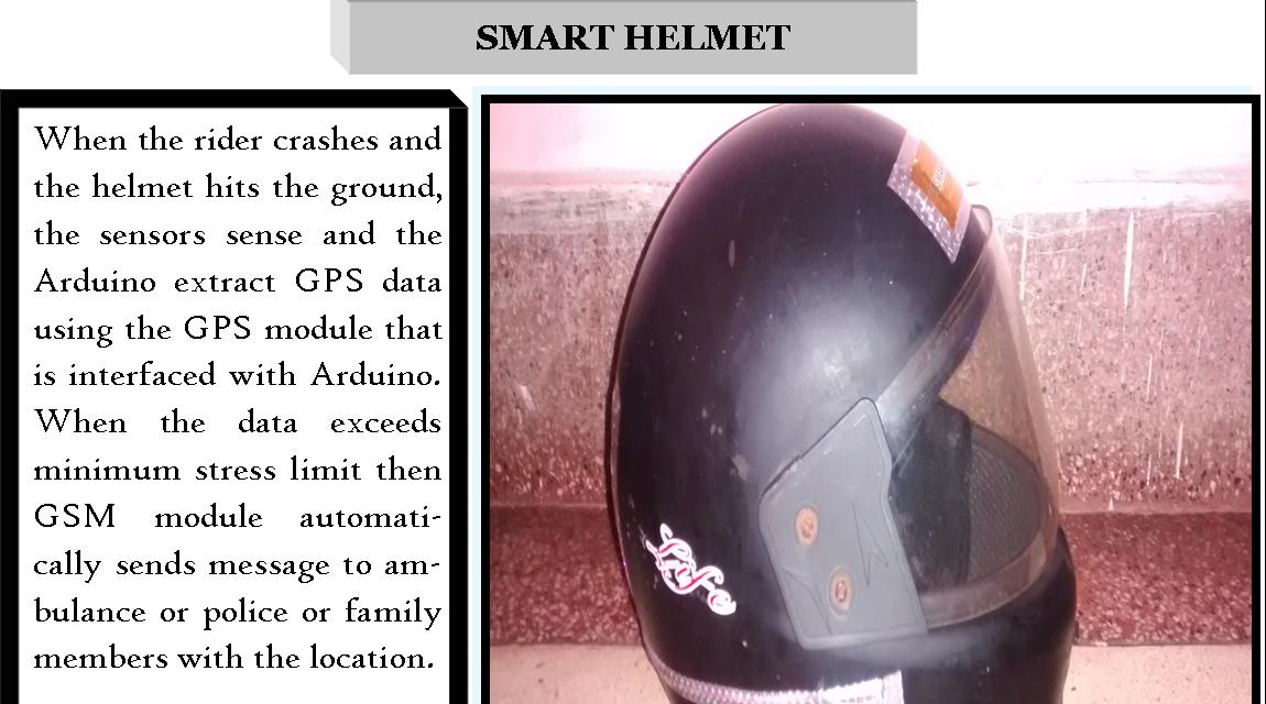 Smart Helmet - The IEEE Maker Project